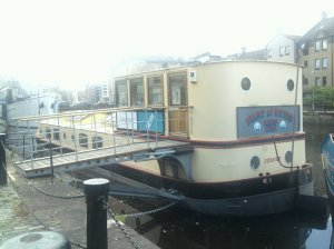 The Leith Agency Barge